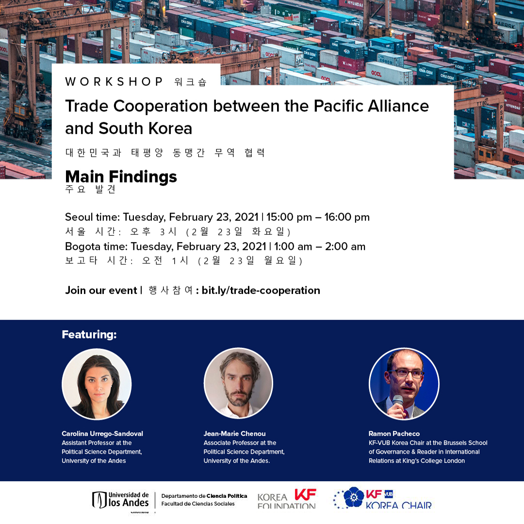 Workshop | Trade Cooperation between the Pacific Alliance and South Korea | Main Findings